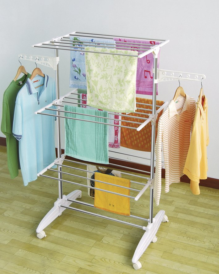 best clothes drying rack a very cozy home. Black Bedroom Furniture Sets. Home Design Ideas