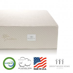 Brentwood Home 11-Inch Gel HD Memory Foam Mattress