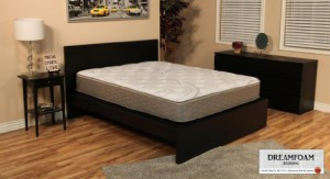 DreamFoam Bedding 12-in-1 Customizable Mattress