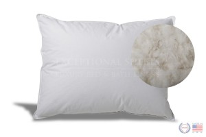 Extra Soft Down Pillow by ExceptionalSheets - Great for Stomach Sleepers