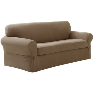 Maytex Pixel Stretch 2-Piece Slipcover Sofa
