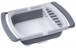 Prepworks from Progressive International CDD-20GY Collapsible Dish Drainer