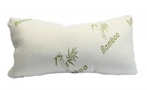 Shredded Memory Foam Pillow - King - Original Bamboo - Neck, Back and Body Pain Relief