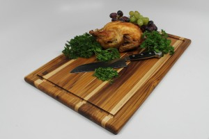 Madeira Provo Teak Edge-Grain Carving Board,