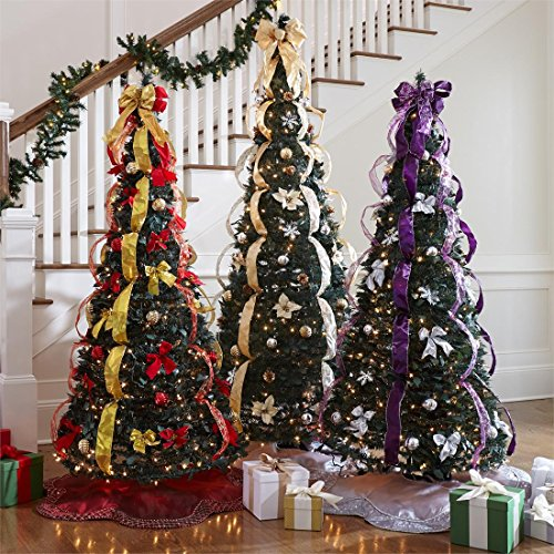The Best Pre Lit Artificial Christmas Trees A Very Cozy Home