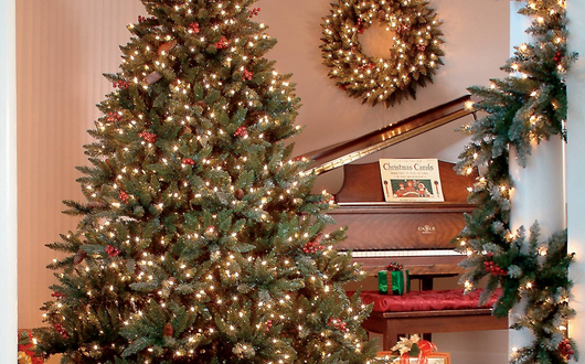 The Best Pre-Lit Artificial Christmas Trees