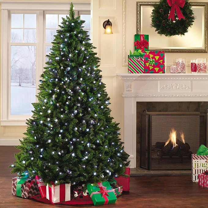Cheapest Pre Lit Christmas Trees - A Very Cozy Home