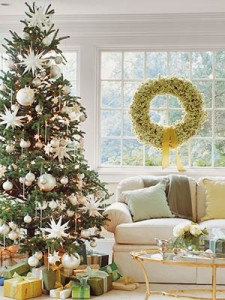 Elegant Christmas Tree Decorating