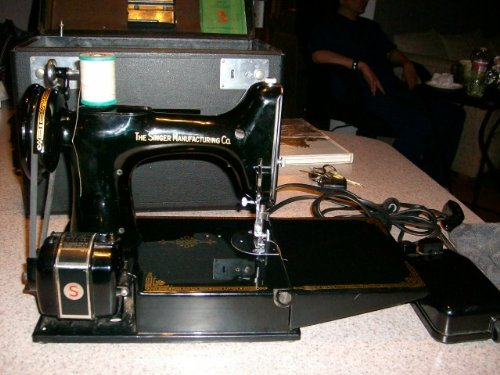 The Vintage Sewing Machine For Leather