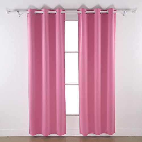 insulated blackout grommet window curtain panel for bedroom that bring to the table good quality materials and nice for a very good price