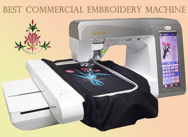 Best Commercial Embroidery Machine - A Very Cozy Home