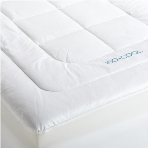 the topper is 3inch thick and contains temperature sensitive memory foam keeping your fresh until the morning the topper is well cushioned and
