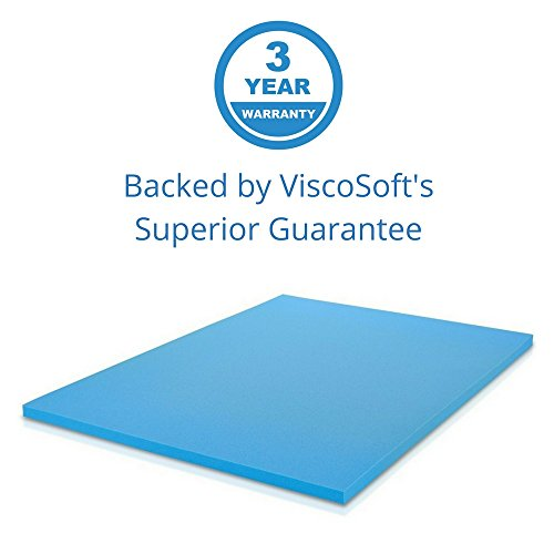 the viscosoft 2inch thick gel infused memory foam full mattress topper falls into this category and a quick look may give you an idea about its efficiency