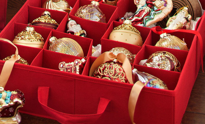 Best Christmas Ornament Storage Box