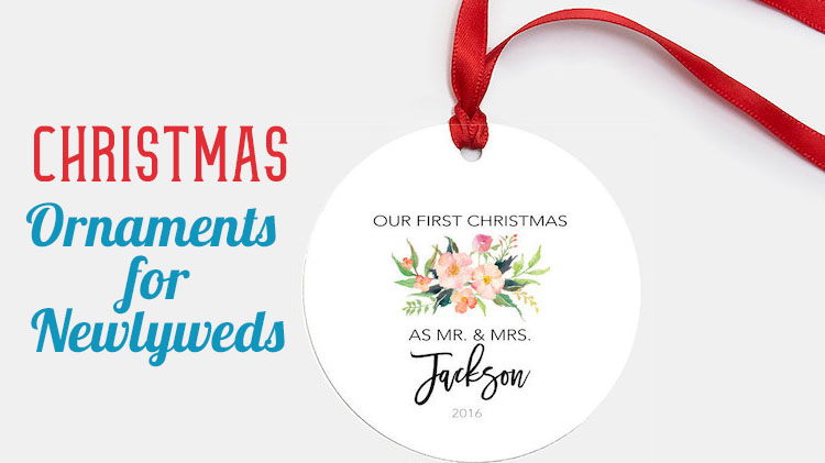 christmas ornaments for newlyweds