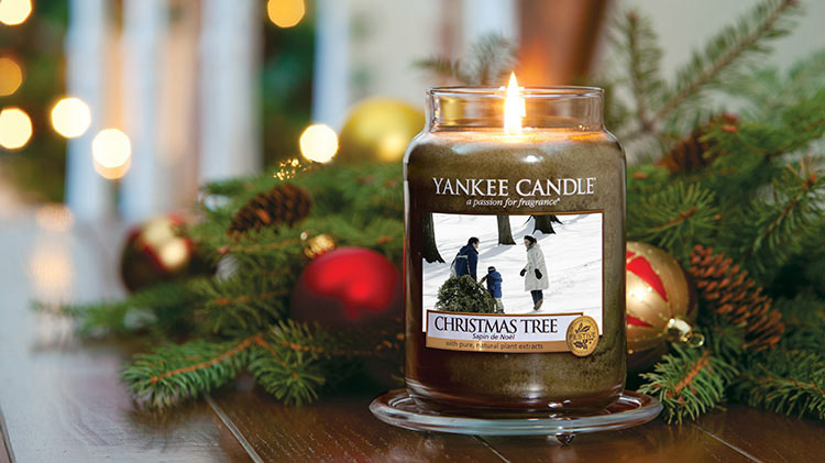 Christmas Tree Smell Yankee Candle - Christmas Tree