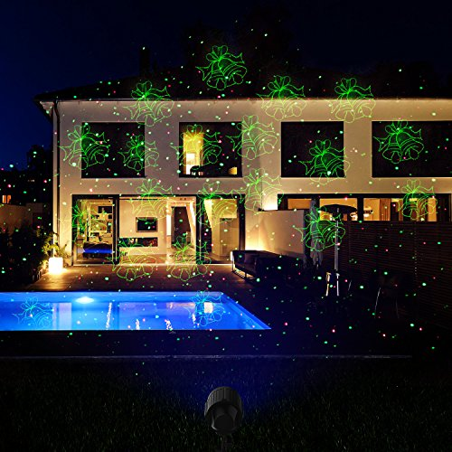 give your residence a whimsical feel this winter with the fiery youth laser light christmas laser show halloween projector - Laser Light Show Christmas