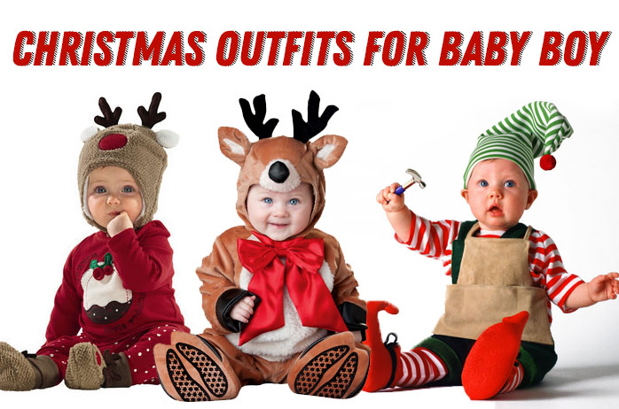 Best Christmas Outfits for Baby Boy - A Very Cozy Home