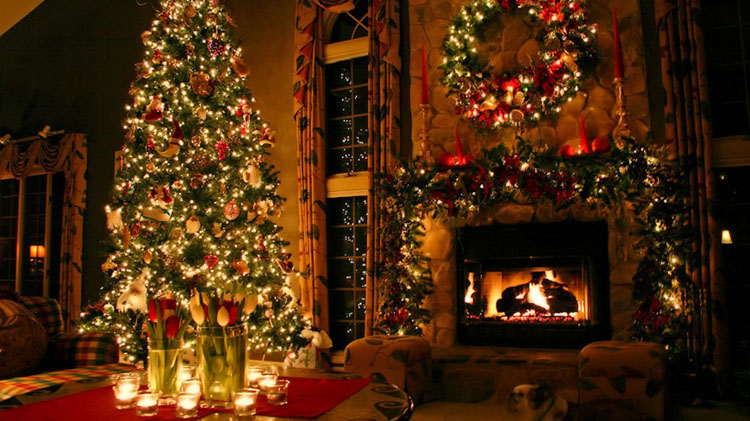 christmas indoor tree lights - Indoor Decorative Christmas Trees