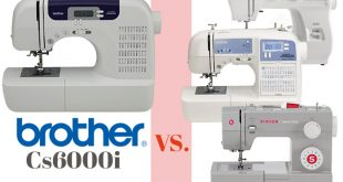 brother CS6000i vs Janome Singer sewing machine