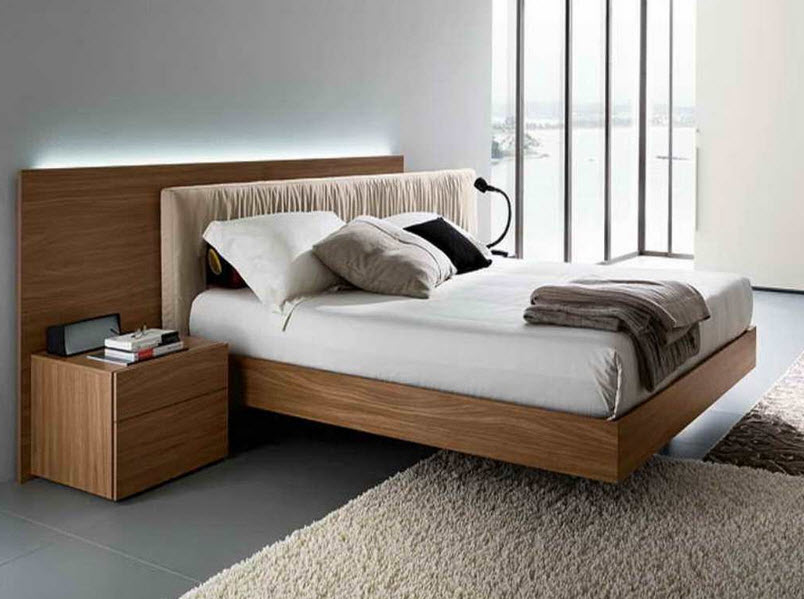 modern wooden bed frames