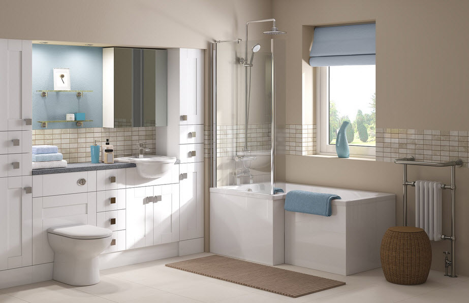 bathroom furnishings