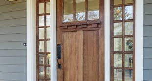 wooden new home door