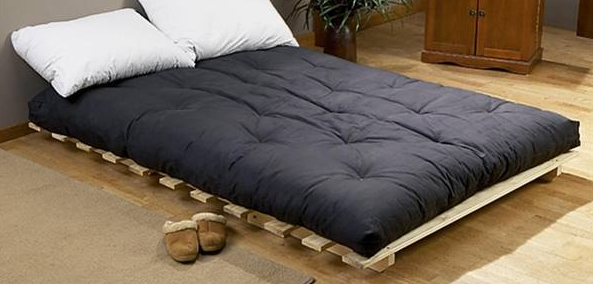 Bed Is Made Of Wood You Have To A Thick Futon Mattress Which 8 Inches Thicker Can Provide Better Sleep As Compared 6 Inch