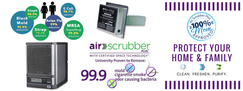 air scrubber benefits infographic