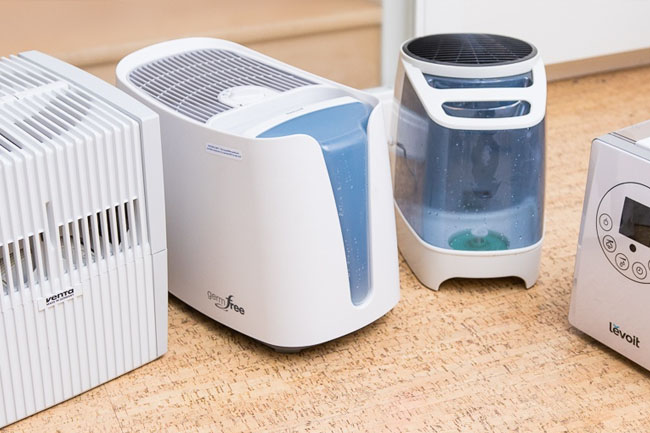 warm-mist or cool humidifier
