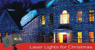 Laser Lights for Christmas