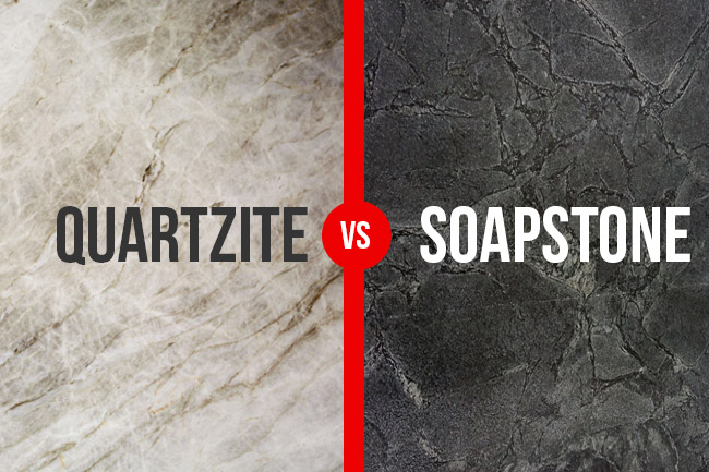 Quartzite vs soapstone counters