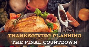 Thanksgiving planning and checking list