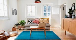 declutter your home - tidy living room