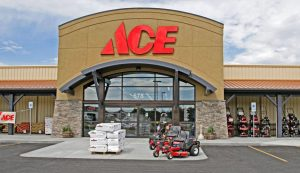 Ace Hardware Store Entrance