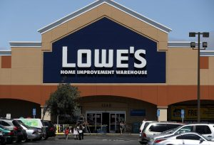 Lowe's Hardware store front
