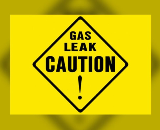 Gas leaks warning