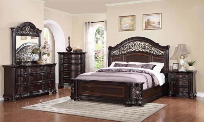 Furniture for a king bedroom
