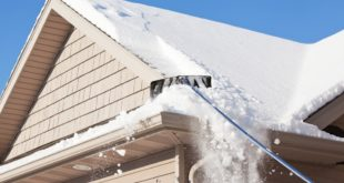 Remove Snow from Your Roof Safely