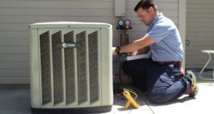 repair the air conditioning unit