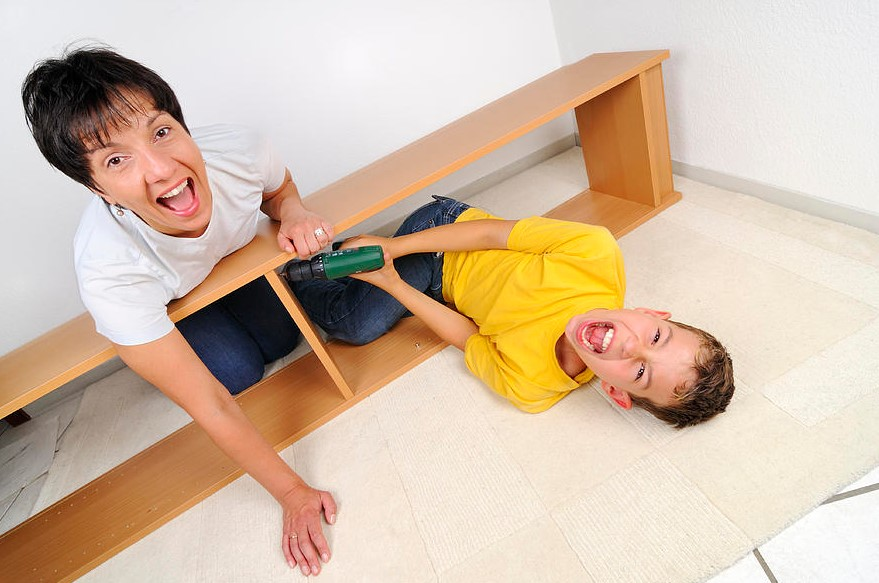 Assembling Furniture with Children