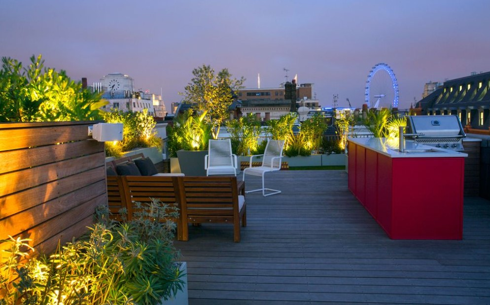 Rooftop Garden Designs London