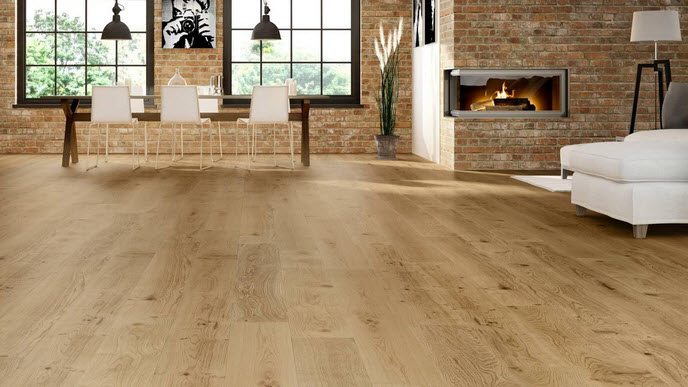 engineered wood floorboard tasteful room