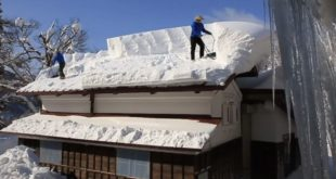 Snow Roof Clean