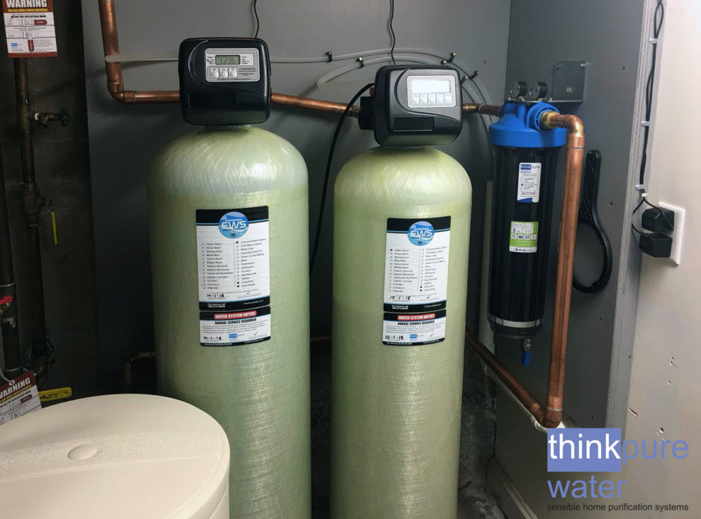 high performance whole home water softener system