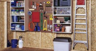 well organized shed
