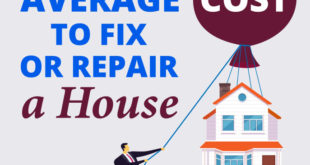average cost to repair a house