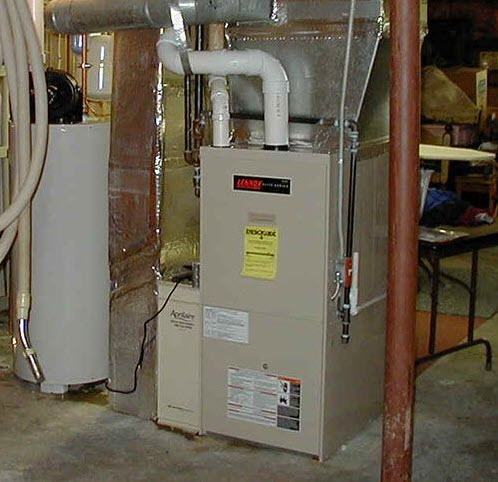 home heating furnace