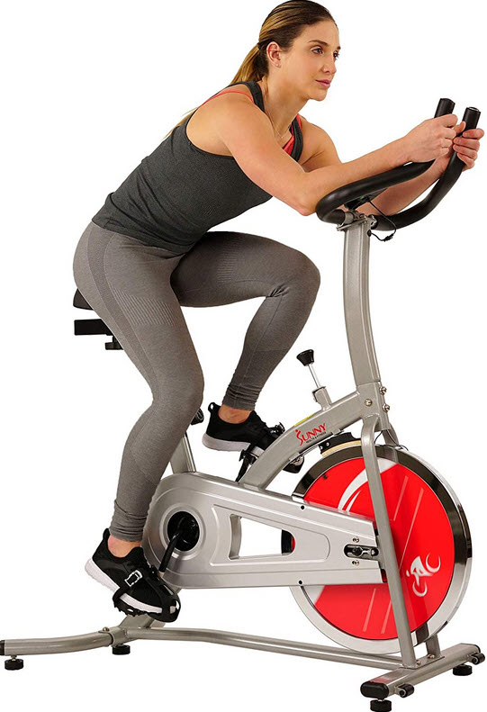 stationary bike at home