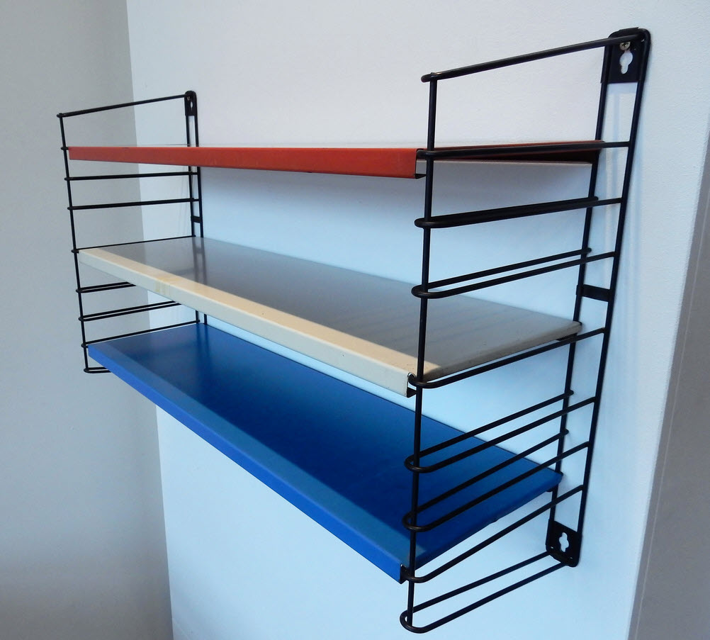 metal shelving